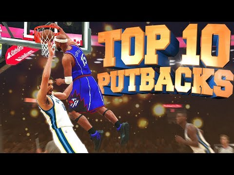 NBA 2K18 TOP 10 PUTBACKS Of The Week - Playground Highlights