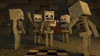Zombie to Skeleton w/ RELAX O VISION! Minecraft Animation