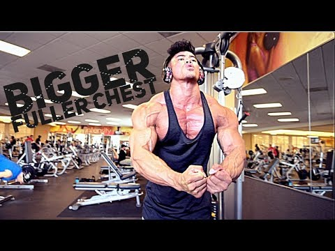 GROW A BIGGER FULLER CHEST | 8 DAYS AWAY FROM ARNOLD CLASSIC