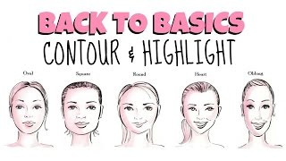 Back To Basics ♡ Contour & Highlight For All Face Shapes + DEMO