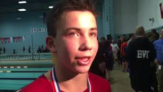 Video: Madison Edgewood's Ben Stitgen wins D-2 diving