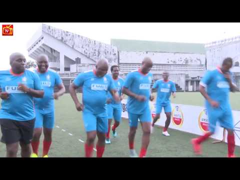 Watch: NFF Chairman, Amaju Pinnick, Others shine in novelty football match (More Highlights)