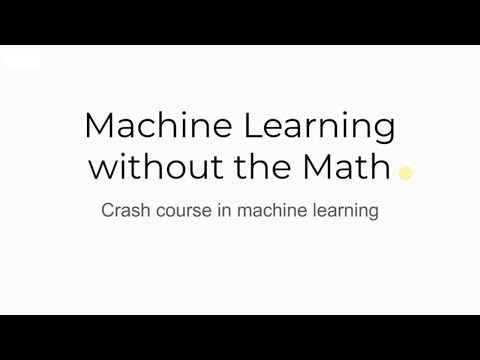 A Beginners Course in Machine Learning - Machine Learning in ...