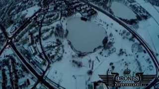 preview picture of video '2015-02-05 Tychy zimą Osiedle H Panorama Miasta HD'
