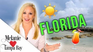 Living in Florida: What's it REALLY Like? 🌴 Cost of Living, Traffic, Weather | MELANIE ❤️ TAMPA BAY