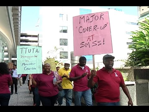 Teachers Protest Outside Education Ministry For Removal Of Ste. Madeleine Secondary School Principal