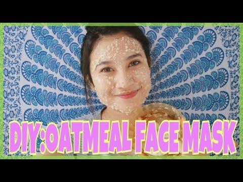 Chocolate facial mask