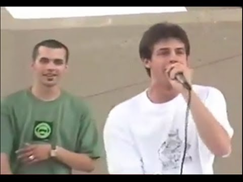 Eyedea freestyle at Rollerblading contest 1999