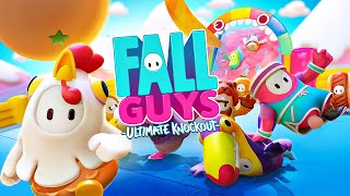 I Got My 1st Fall Guys Win! (Fall Guys: Ultimate Knockout)