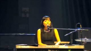 Dami Im - Heart Beats Again -  14/12/14 @ John Legend Concert Adelaide