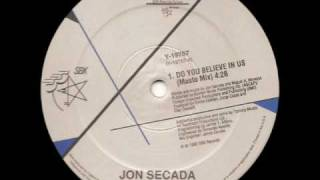 Do You Believe In Us ( Musto Mix ) - Jon Secada