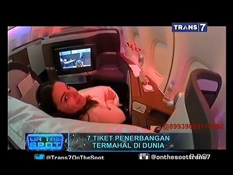 Video On The Spot - 7 Tiket Penerbangan Termahal di Dunia