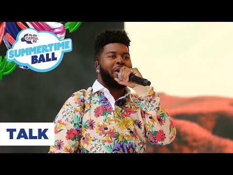 Khalid – 'Talk' | Live At Capital's Summertime Ball 2019 - Capital FM