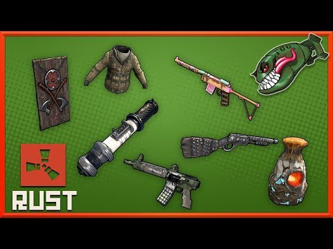 Rust Top Skins | Bulldozer Lr, Crystal Furnace, Doomsday Set, Sea