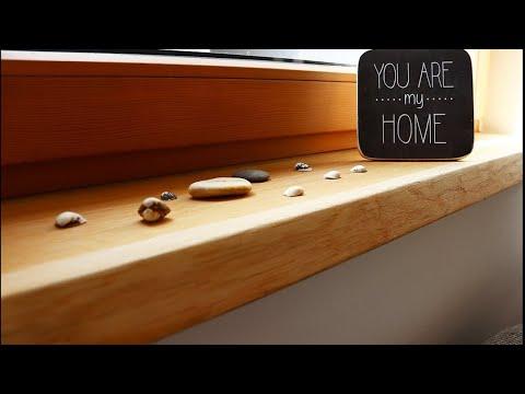 DIY | Eiche Massivholzfensterbank selber machen und einbauen