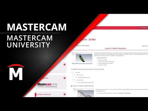 Mastercam University - Online Training Classes - YouTube