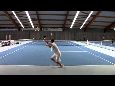 Tennis Training Paul Haase