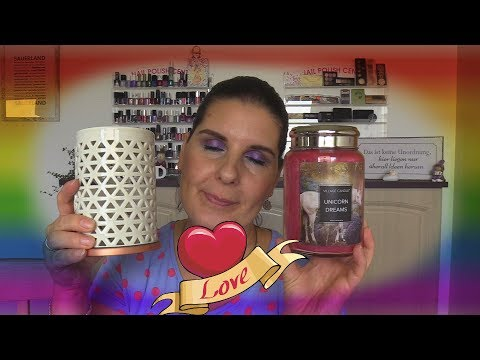 ☺Unboxing☺ Kerzenhaul , Duftwachs, Duftlampe, Yankee Candle, Candle Warmers