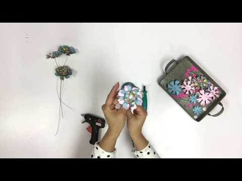 6 Steps with Sizzix in 60 Seconds: Twist up a bouquet!