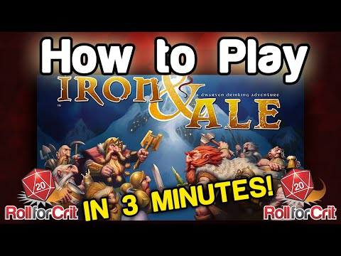 How To Play Iron & Ale - Roll For Crit