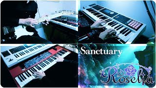 【BanG Dream!】Sanctuary(short ver.)  keyboard & guitar cover【Roselia】