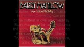 Barry Manilow -- Marry Me A Little from Company