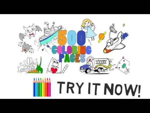 Video of Coloring Book
