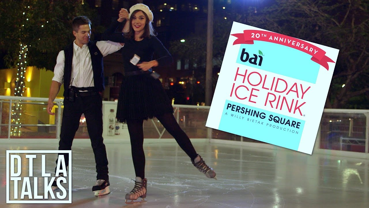 DTLA Talks: 20th Anniversary of The Pershing Square Holiday Ice Rink