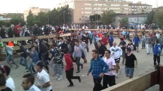 preview picture of video 'Fiestas Móstoles 2013 - Segundo Encierro'