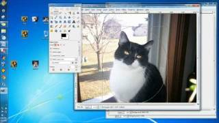 Create Desktop Icons with Gimp