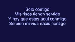 Maite Perroni-Contigo (Lyrics)