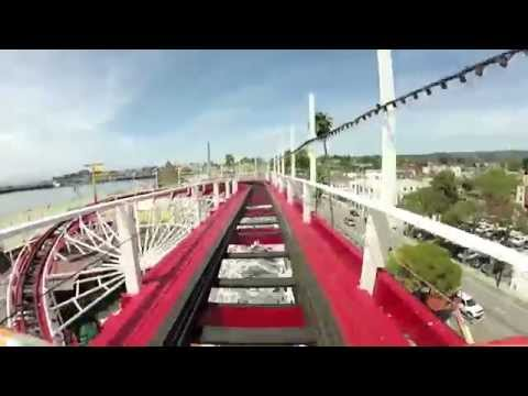 video:Front Seat Ride on the Boardwalk's Giant Dipper!