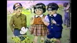 古賀さと子さんが歌う 童謡 ちょうちょのおどりこ 虹のそりはし