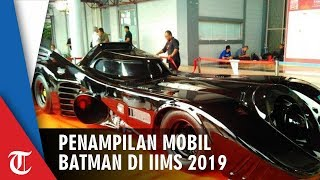 Begini Penampilan Mobil Batman di IIMS 2019