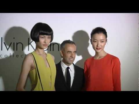 Calvin Klein Collection Dinner in Beijing - презентация одежды Calvin Klein