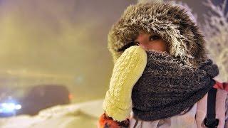 7.01.17 Аномальные Рождественские морозы в центральной части России, а также за пределами России