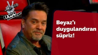 Acun Ilıcalı'dan Beyaz'ı duygulandıran sürpriz!   O Ses Türkiye 2018