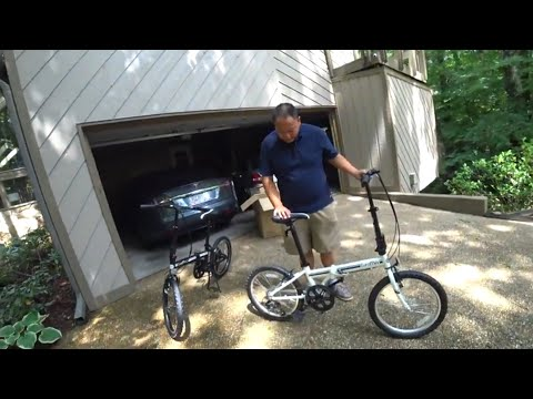 EuroMini Campo 20″ Folding Bike vs. Tesla Model S:  Will it fit?- Unboxing, Assembly and Review
