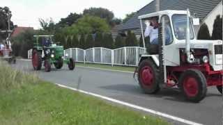 preview picture of video 'Audenhain Traktorentreffen 2012 Ausfahrt'
