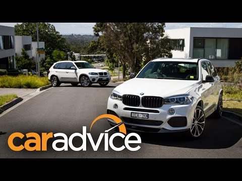BMW X5 twin test - upgrading from E70 to F15
