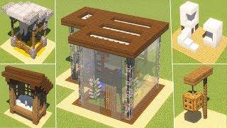 МАЙНКРАФТ: 5 домов для животных