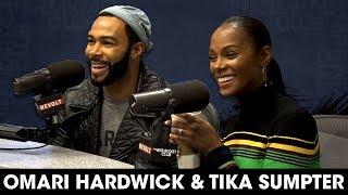 Omari Hardwick & Tika Sumpter Talk New Movie & Omari's Run In With A Crazy Fan