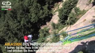 ALPINE UP (Deutsch) Innovativ Sicherungsgerät/Abseilgerät Von Climbing Technoloy