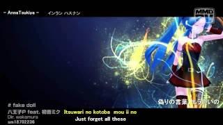 FAKE DOLL - 8#Prince feat. Hatsune Miku [MMD] ( Eng / Jap Sub with Romaji )