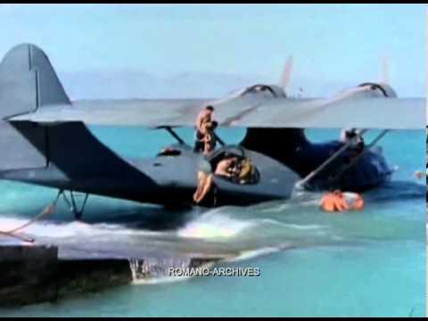 תיעוד היסטורי ונדיר של מטוס הקטלינה