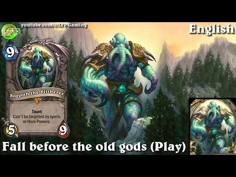 Hearthstone: Soggoth the Slitherer card sounds in 14 languages -WotOG