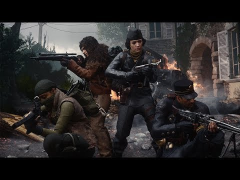"""Official Call of Duty®: WWII - United Front DLC 3 - """"The Tortured Path"""" Nazi Zombies Trailer thumbnail"""
