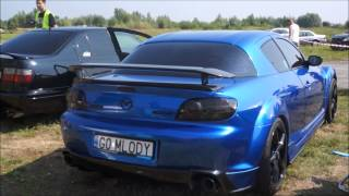 Mazda RX-8 HIGH REVS - REV LIMITER - EXHAUST MODS - NO CAT