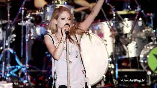 Avril Lavigne - Best Live Japan 2011 (7mn47s)