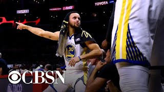Warriors take series lead on Clippers